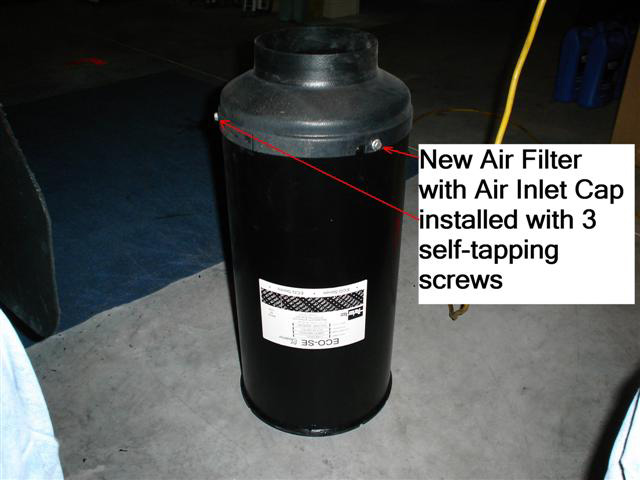 Rv Air Cleaner : Rv tech library replacing the air filter