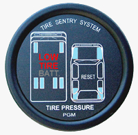 Tire Sentry in-dash monitor display