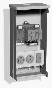 Rv tech library shore power connections pedestal breaker panel cheapraybanclubmaster Images